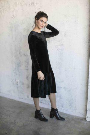 שמלת מרוה שחור