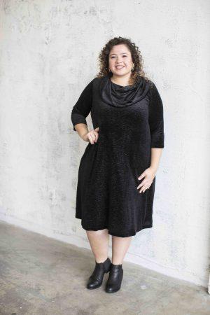 שמלת עירית שחור