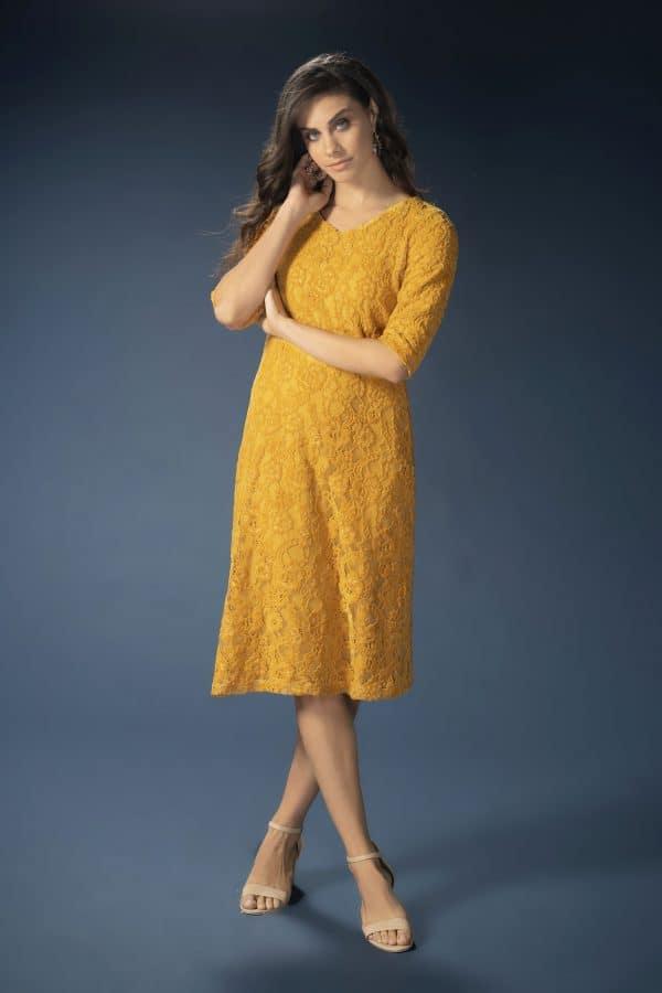 שמלת דבש חרדל