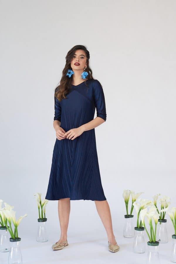 שמלת תורמוס כחולה