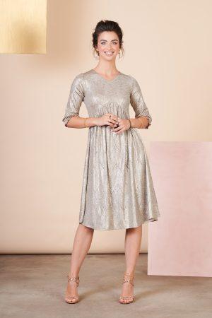 שמלת אנפה זהב