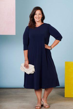 שמלת חן כחול