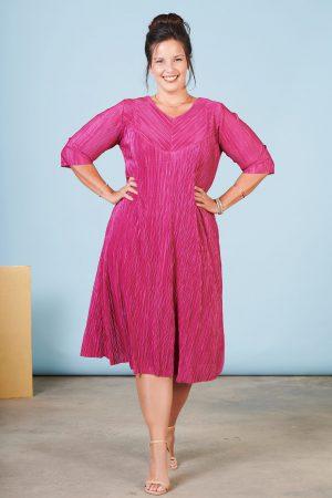 שמלת עינב פוקסיה
