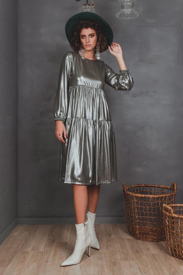 שמלת זוהר זית