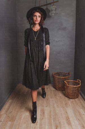 שמלת ניצן שחורה