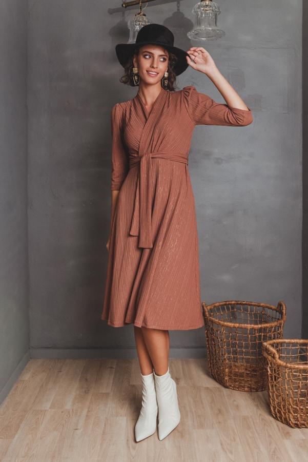 שמלות צנועות שמלת אנה כאמל