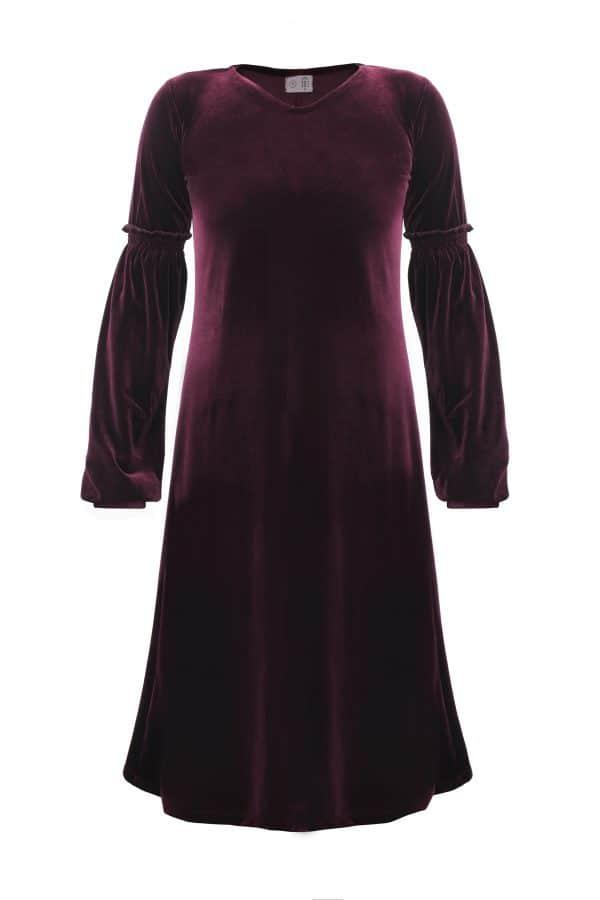 שמלת אירית חציל