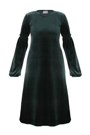 שמלת אירית ירוקה