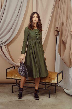 שמלת נילי זית