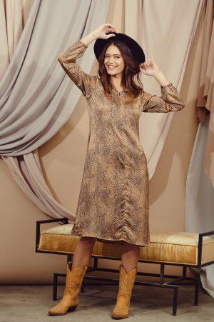 שמלות צנועות שמלת שיר קפה