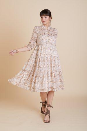 שמלת יערה זהב