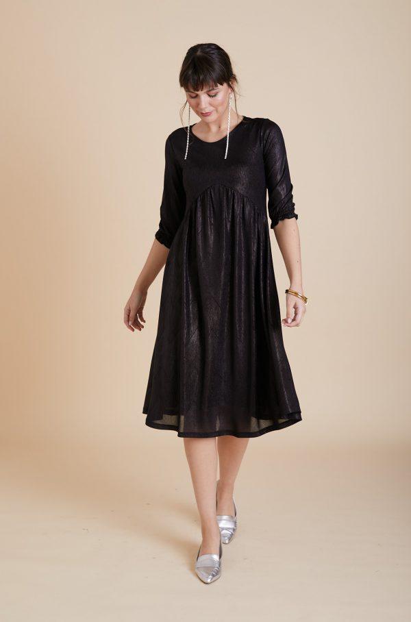 שמלת אנפה שחור